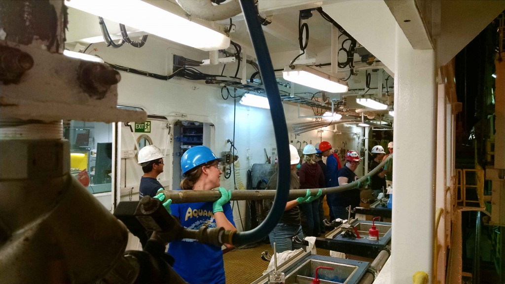 First core of Expedition 354!