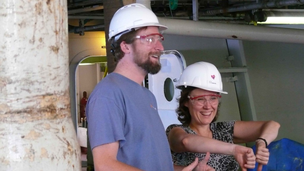 My fellow day shift P-magger and great scientist to work with, Laure Meynadier.